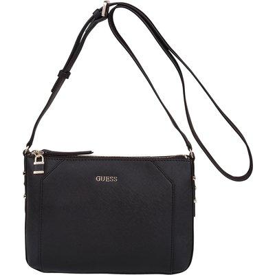 Guess-Handbags - Gia Crossbody Top Zip - Black