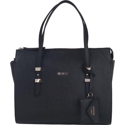 Guess-Handbags - Gia Satchel - Black