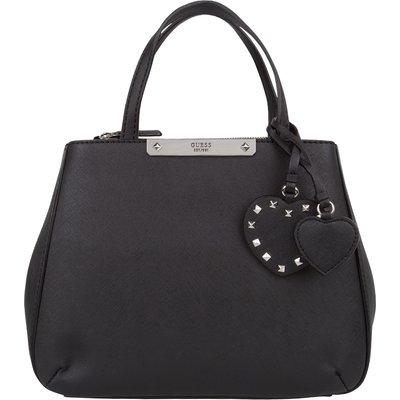 Guess-Handbags - Britta Small Society Satchel - Black