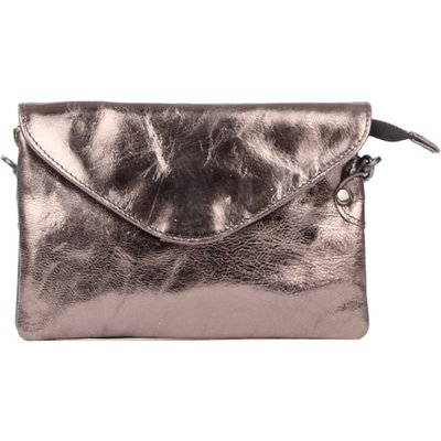 Legend-Clutches - Bag Costa Metallic - Black