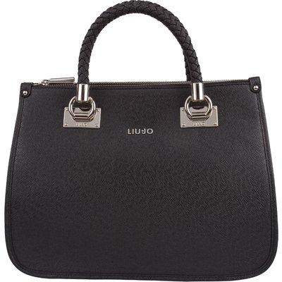 Liu Jo-Hand bags - Shopping Medium Quadrata Anna - Black