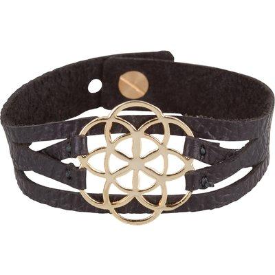 MYOMY-Bracelets - Flower Of Life Bracelet - Black