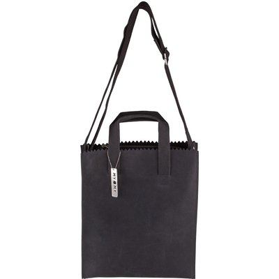 MYOMY-Handbags - My Paper Bag Crossbody - Black