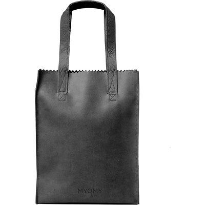 MYOMY-Handbags - My Paper Bag Zipper Long Handles New - Black