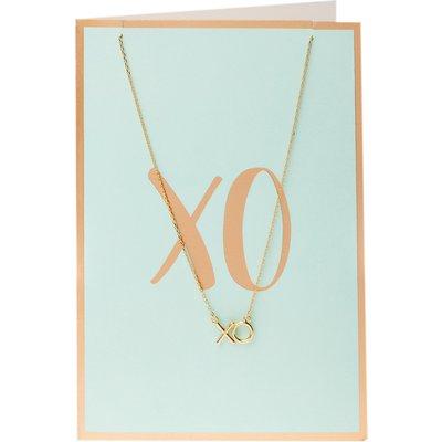 Orelia-Necklaces - Semi Precious XO Necklace Giftcard -
