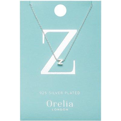 Orelia-Necklaces - Necklace Initial Z - Silver