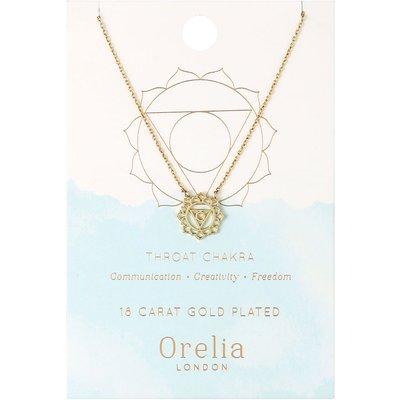 Orelia-Necklaces - Throat Chakra Necklace - Gold