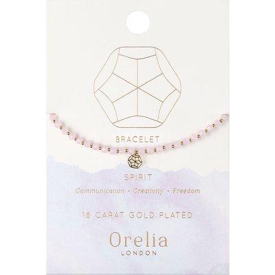Orelia-Bracelets - Spirit Elements Beaded Bracelet - Pink