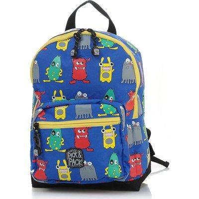 Pick & Pack-Backpacks - Backpack Monster - Blue