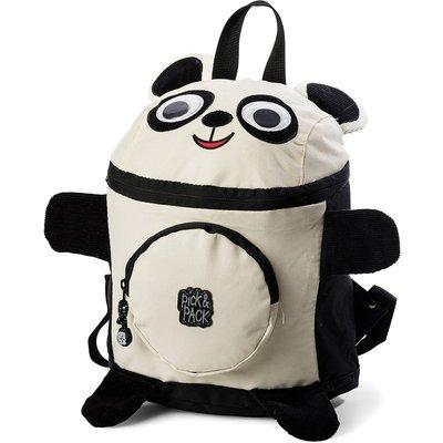 Pick & Pack-Backpacks - Backpack Panda Shape - Black
