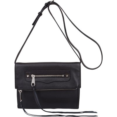 Rebecca Minkoff-Clutches - Small Regan Clutch - Black