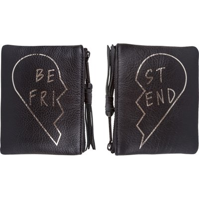 Rebecca Minkoff-Clutches - Best Friends Pouch Set - Black