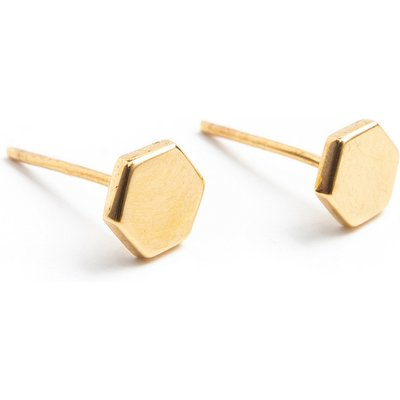 Scmyk-Earrings - Earrings Hexagon - Gold