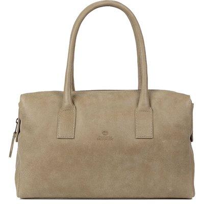 Fred de la Bretoniere-Handbags - Medium Handbag  - Beige