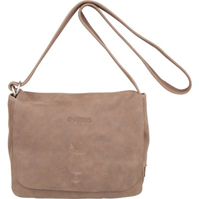 Shabbies-Handbags - Shoulderbag Heavy Grain Leather - Taupe