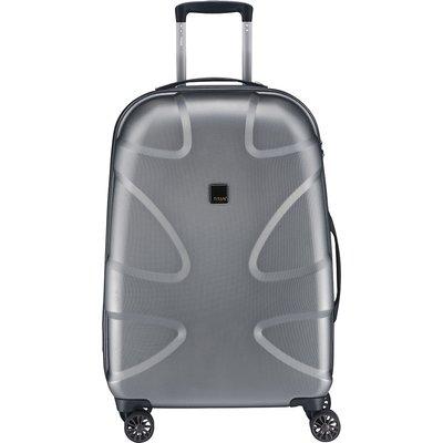 TITAN-Suitcases - X2 Medium+ Trolley 4 Wheels - Grey