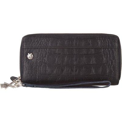 X Works-Wallets - Feike Wallet Croco - Black