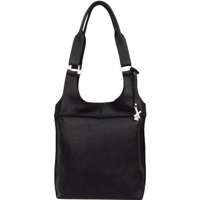 X Works-Handbags - Joy Large Bag - Black