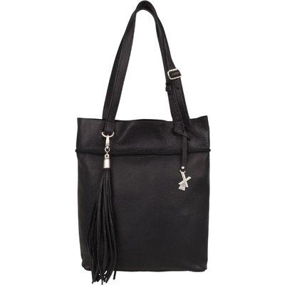 X Works-Handbags - Esmee Large Bag - Black