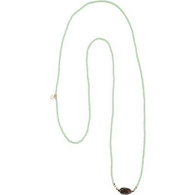 A Beautiful Story-Necklaces - Joy Smokey Quartz Necklace - Silver