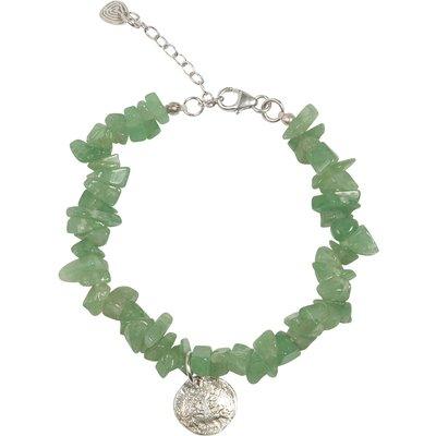 A Beautiful Story-Bracelets - Power Aventurine Tree Bracelet - Silver
