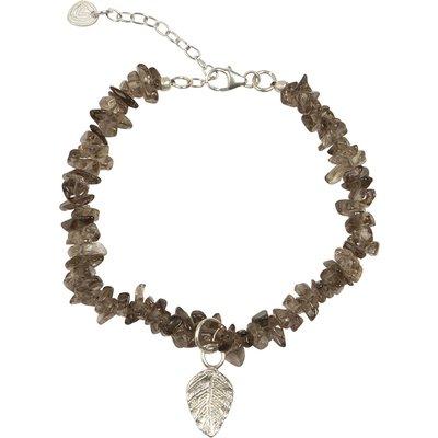 A Beautiful Story-Bracelets - Power Smokey Quartz Bracelet - Silver