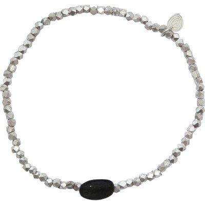 A Beautiful Story-Bracelets - Celebrate Black Onyx - Silver