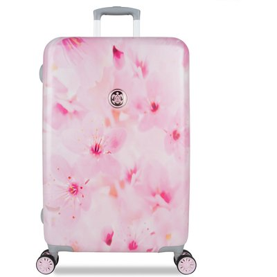 SUITSUIT-Suitcases - Suitcase Sakura Blossom 24 inch Spinner - Pink