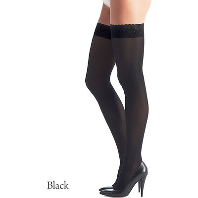 Oroblu Chic Up 50 Lace Top Hold Ups