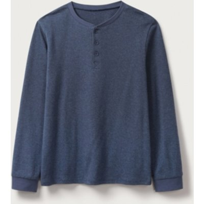 Textured Henley Knitted Jumper (2-12)