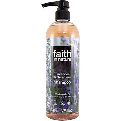 Faith in Nature Lavender & Geranium Shampoo - 740ml