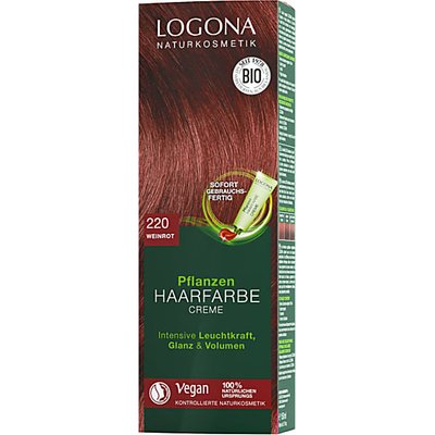 Logona Hair Colour Cream - Tizian