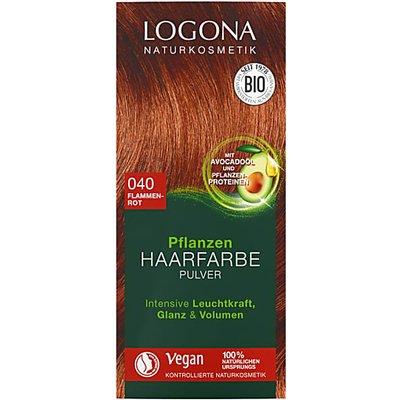 Logona Hair Colour Powder - Flame Red