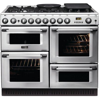 5016108809174   Hotpoint CH10750GFS Cannon by Hotpoint 100cm Gas Cooker Stainless Steel