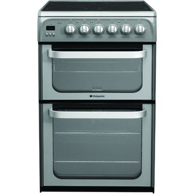 Hotpoint HUE52GS 50cm wide Electric Cooker in Graphite 5016108810149