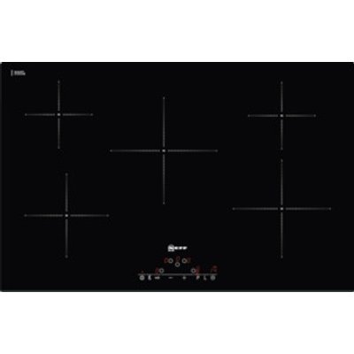4242004165163 | Neff T41D82X2 5 Zone Induction Hob   Black Glass Store