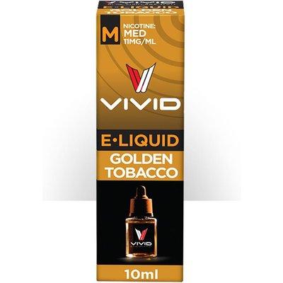 Vivid E-Liquid Medium Strength - Gold Tobacco