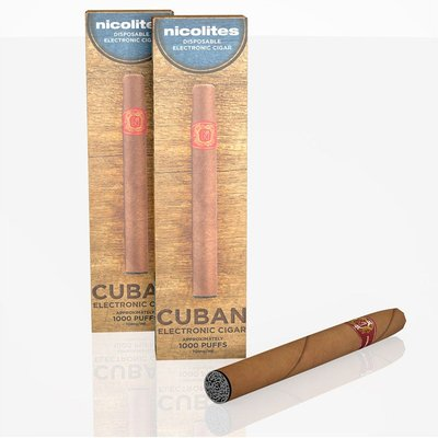 Robert Dyas Nicolites Disposable Vivid Cuban E-Cigar