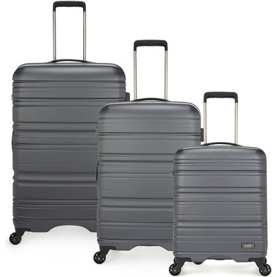 Antler Saturn 3-Piece Suitcase Set - Charcoal