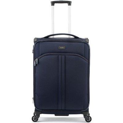 Antler Aire 4-Wheel Medium Suitcase - Navy