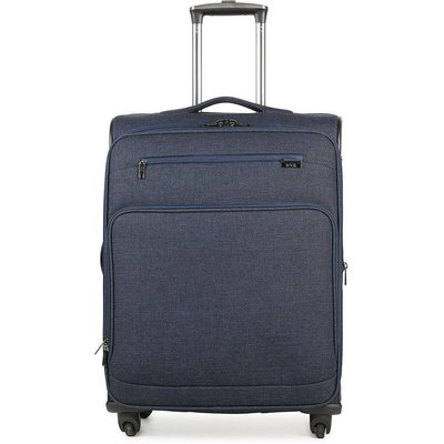 Rock Madison Cabin Lightweight Expandable 4-Wheel Suitcase - Navy