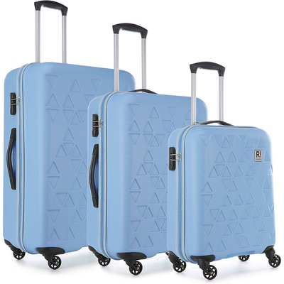 Revelation by Antler Echo 3-Piece Suitcase Set - Blue