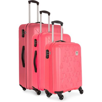 Revelation by Antler Echo 3-Piece Suitcase Set - Pink