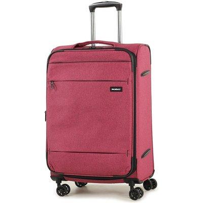 Members by Rock Luggage Beaufort Medium Suitcase - Red