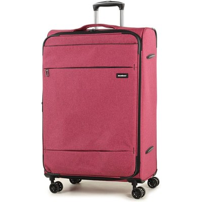 Members by Rock Luggage Beaufort Large Suitcase - Red