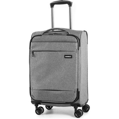 Members by Rock Luggage Beaufort Cabin Suitcase - Grey