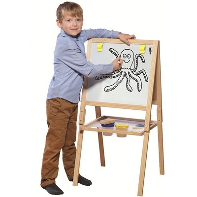 Charles Bentley Casdon Wooden Chalk And White Board