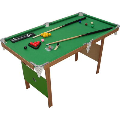Charles Bentley 4ft Snooker Games Table - Green