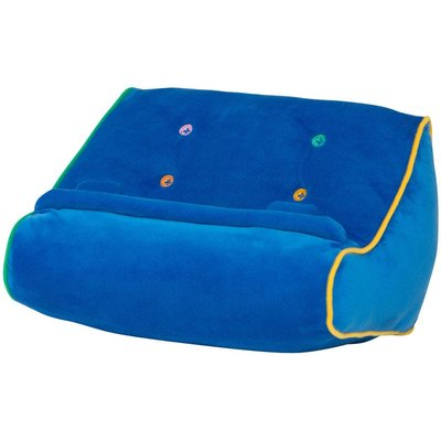 Thinking Gifts Couch Book and Tablet Holder - Blue
