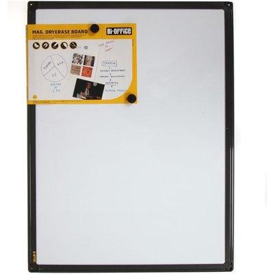 Bi-Silque Magnetic Whiteboard 600x450mm Frame, Grey
